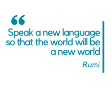Speak-a-new-language-so-that-the-world-will-be-a-new-world